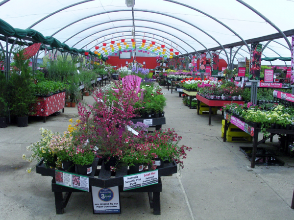 Garden centre near Canterbury