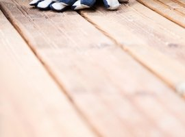 Gloved up